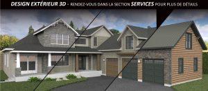 ACCUEIL | Design extérieur 3D par Sarah-Eve Cossette Designer