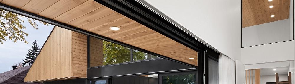 Concept PV soffite bois