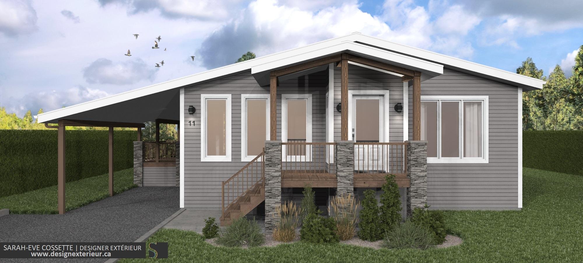 Projet Design exterieur 2020-DE001-3.2 maison a Amos visuel 3 modifie