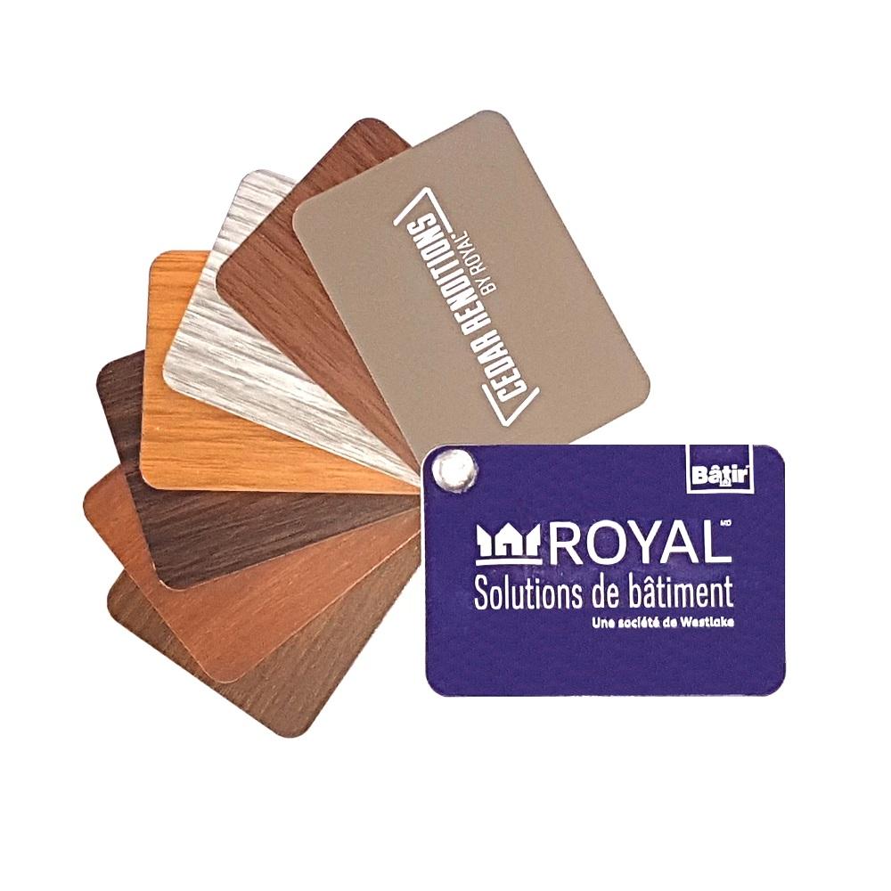 Aluminium Royal Cedar Renditions - Accueil couleurs