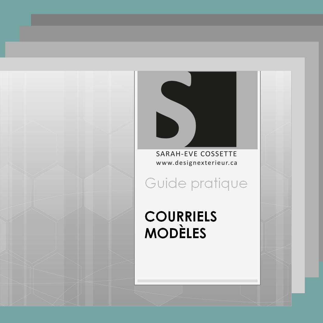 Guide pratique - Courriels modeles accueil pour designer interieur
