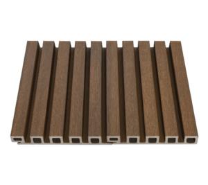 Bardage de bois ajoure en composite Design exterieur Newtechwood