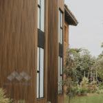 Bois ajoure en composite Design exterieur Newtechwood