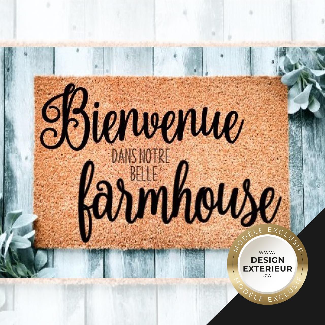Bienvenue dans notre belle Farmhouse Design exterieur Exclusif