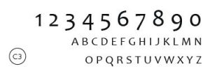 Styll Design numeros civiques Design exterieur typographie C3
