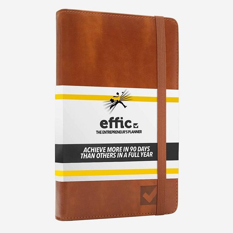 Effic Planner productivity agenda English cognac Design Exterieur